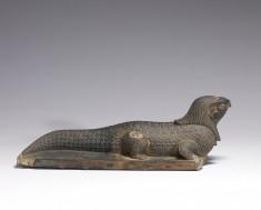 Statue of a Crocodile with the Head of a Falcon
