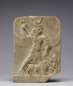 Horus Spearing the Enemy
