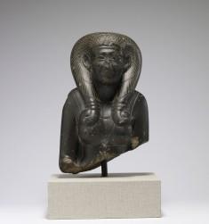 Bust of a Queen Wearing Royal Headdress