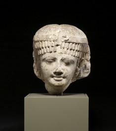 Head of a Queen, Perhaps Cleopatra II or Cleopatra III