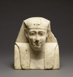 Sculptor Model for a Royal Bust