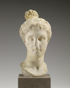 """Head of a Maiden with """"Lampadion"""" Hairstyle"""
