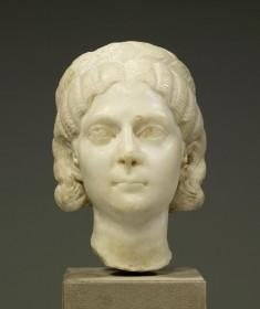 Portrait Head, Perhaps of Otacilia Severa