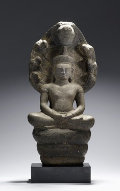 Crowned Naga-Protected Buddha