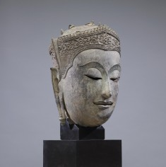 Head of the Crowned Buddha