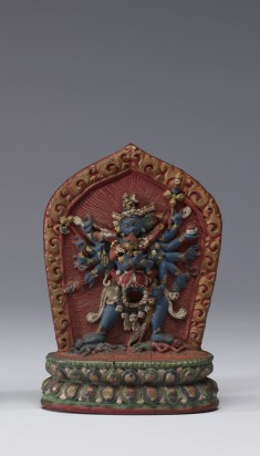 One of a Pair of Votive Plaques