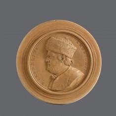 Profile Head of Benjamin Franklin