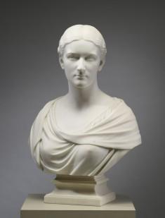 Bust of Mrs. J. Edward Farnum (Eliza Leiper Smith, 1849-1912)