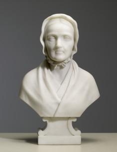 Bust of the Artist's Mother, Mrs. Israel Rinehart (Mary Snader, 1797-1868)