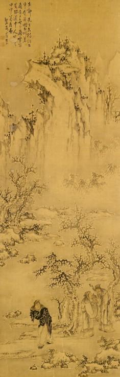 Sages in a Winter Landscape
