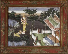 Vessantara Jataka, Chapter 8: Jali at Vessantara's Feet