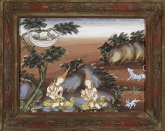 Vessantara Jataka, Chapter 11: While Jujaka Sleeps the Children are Cared For