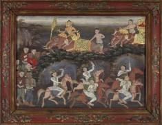 Vessantara Jataka, Chapters 12 & 13: Jali's Army Recovers Vessantara and Returns to the Capital