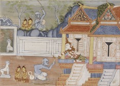 Vessantara Jataka, Chapter 8 (The Royal Children)