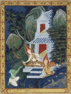 Vessantara Jataka, Chapter 10 (Indra's Realm)