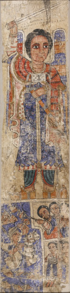 Archangel Michael and the Crossing of the Red Sea