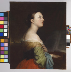 Portrait of a Lady Playing the Piano
