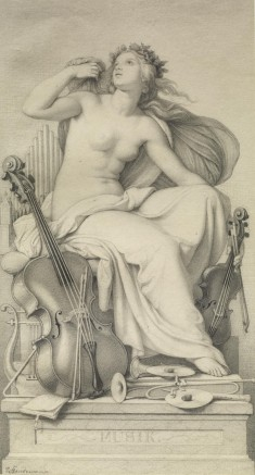 Allegorical Figure of Music