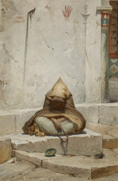 Arab Mendicant in Meditation