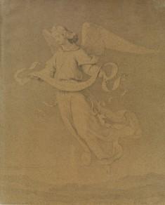 Christmas Angel Bearing Scroll