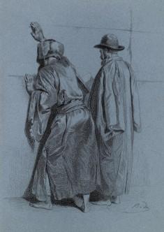 The Jews at the Wailing Wall
