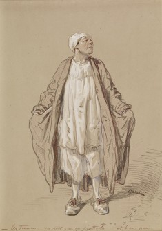 Man in Night Dress