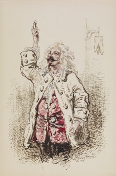 Man in Seventeenth-century Costume
