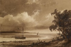 Riverscape with Boats