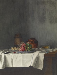 Still Life with Radishes and Paté