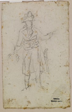 Sketch of Costume of General Bonaparte