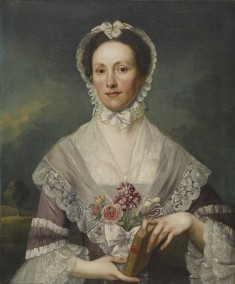 Portrait of a Lady Holding a Book