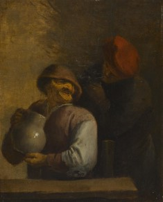 Two Peasants in an Inn