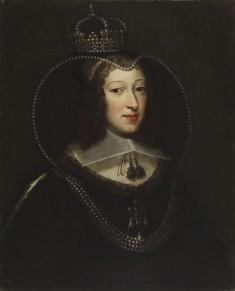 Portrait of Queen Henrietta Maria as a Widow