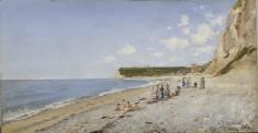The Beach at Fécamp