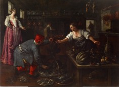 Venetian Kitchen Interior