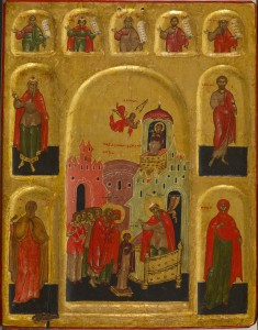 Presentation of the Virgin in the Temple and the Virgin of the Burning Bush