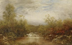 Landscape With Cascades
