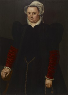 Portrait of a Woman with a Pomander
