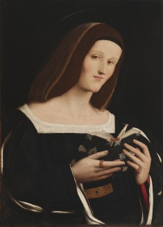 Portrait of a Young Woman as a Saint