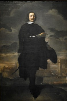 Portrait of Baldassare Vandergoes before the Port of Ancona