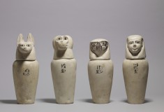 A Complete Set of Canopic Jars