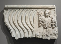 Sarcophagus Fragment with the Good Shepherd