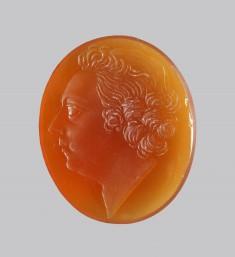 Intaglio Portrait of Louis XV