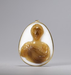 Cameo with Bust of a Hohenstaufen Emperor