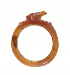 Finger Ring with a Frog