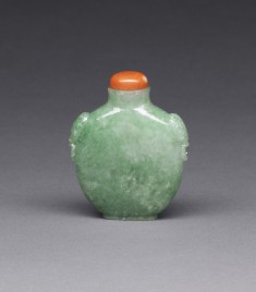 Snuff Bottle in the Shape of an Archaic Flask