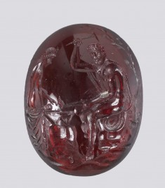 Intaglio with Venus Visiting the Forge of Vulcan