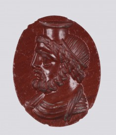 Intaglio with Bust of Serapis