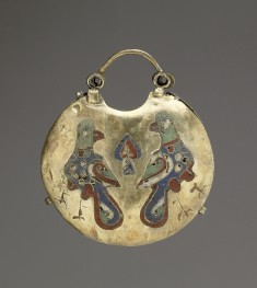 Temple Pendant (Kolt) with Two Birds