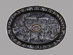 Oval Stand for Ewer: Allegory of the Redemption